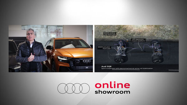 Audi Online Showroom - Audi SQ8 vs. Q8